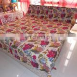 Handmade Quilt Wholesale Indian Cotton Quilt Multi Print King Size kantha quilt