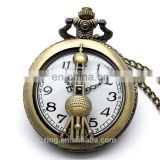 Commemorate Necklace Retro Tower Pocket Necklace Watch For Men And Women