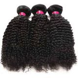Grade 7A 20 Inches Indian Curly Human Hair Brazilian No Mixture Brazilian Tangle Free
