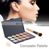 Cheap cream contour palette 15 color waterproof makeup concealer