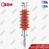 High voltage overhead transmission line 33kV composite polymer pin insulator