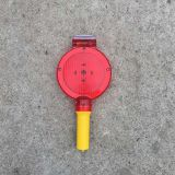 Solar  Flashing Light Traffic Warning Light For Cone
