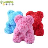 New Show High Quality 40cm Valentine Day Foam Teddy Rose Flower Bear
