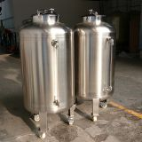Vertical Stainless Steel Tank Liquid Material Storage 316 Stainless Steel Water Tank