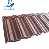 Africa market popular stone coated metal roof tile with Decra quality