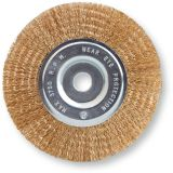 Crimped Wire flat wheel brush