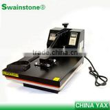 factory cheap price hotfix strass machine,stone fixing machine,heat press machine for garment jeans fabric