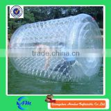 inflatable water roller for kids and adults giant inflatable human water bubble ball for sale