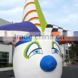 Clown inflatable helium air balloon head for birthday party/event decoration