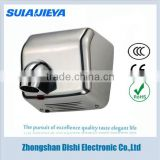 stainless steel uv light hand dryer