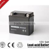 Energy motorcycle parts mini motorbike battery 12v 5ah