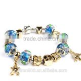 Fashion bracelet wholesale european bead snake chain bracelet jewelry