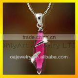 antique fashion necklace for girl wholesale price 925 sterling silver pendant with stone with prompt delivery paypal acceptable