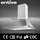 70cm commercial kitchen island range hood