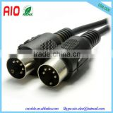 1Meter 5 Pin DIN Plug to 5 Pin DIN Plug Midi Connector Cable