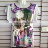 1.83USD Stock Wholesale High Quality Cotton Assorted Designs Sexy Sleepwear For Women /Pajama Set ( kcrtsq001)