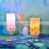 flameless candle decoration Good quality battery powered led light candles with remote control