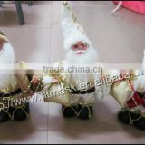 2014 christmas decoration supplies Kriss Kringle take a sack christmas supplies trumpet christmas ornament,natal