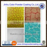 electrostatic spray textured powder coating for metal