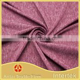 Weft knitted nylon polyester spandex melange yarn fabric for underwear and active sportswear                                                                         Quality Choice