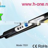 2016 professional Wet and Dryer Aluminium/Titanium Plate digital display Hair Straightener
