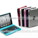 Bluefinger Ultra-slim portable Bluetooth keyboard case for iPad Mini ABS material