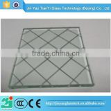 China supplier factory price 2 hour fire rated glass