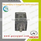 YK5 37M60-50001/JJD2200 24V/20A HIGER bus wiper motor intermittent controller relay