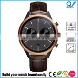 PVD rosegold case color 316L stainless steel material scratch proof stainless steel luxury watches brands