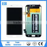 Wholesale 100% Warranty Original LCD For Samsung Galaxy S7 Edge LCD Display + Digitizer Touch Screen