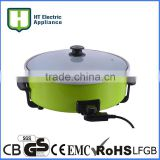 round electric frying pan mini electric frying panelectric frying pan temperature control