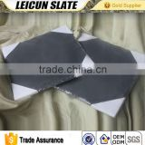 Chinese Natural Slate Dinner Divided Plate for Restaurant