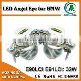 High power angel eyes led bulb e90 non LCI halogen 32w led marker angel eyes for bmw e90 e91