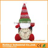 Fashion christmas wall clocks with quartz clock movement