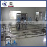 Crawler type automatic brush barrels bottled water machine