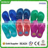 new arrival plastic flip flops china slippers, kid top brand flip flops slippers