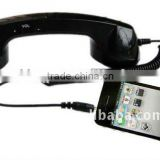 China supplier high quality retro COCO phone handset for iphone,ipad