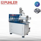 Puhler Ultra Fine Grinding Mill / Nano Mill / Horizontal Bead Mill For Printing Ink Making Machine