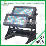Lowest price and high quality outdoor concert LED City Color Stage wall washer 3W 192pcs RGBW flood light