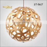 ST-5617- L Sunbelt 2015 hot sale American Wooden ball pendant lamp,Creative lamp office,reding room decoration
