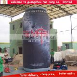 Top selling promotional inflatable bottle can , inflatable can replica , inflatable model for activity