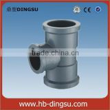 plastic factory made pvc reducing tee(female&socket) PVC water supply fittings NBR 5648