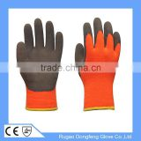 7 Gauge Acrylic Heavy Thermal Lined Winter Sandy Latex Glove Anti Slip Safety Winter Glove