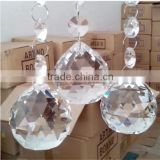 2015 new style pendant drop crystal 100 wholesale clear glass christmas ball ornaments                                                                         Quality Choice