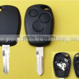3 button remote key case shell fob for Renault Dus Vivaro Master Traffic Kangoo