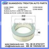 AIR FILTER 13780-78000 13780-78100 13780-84E00 4180816 71736147 13780-80000 FOR SUZUKI ALTO II 81-93 ALTO III 94-02