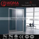 Y623 6MM tempered glass shower enclosure walk in shower combo
