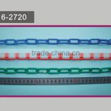 Plastic Chain 6mm - Red and White, Safety Decorative Garden Fence Barrier