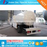 Manufacturer used 4*2 small pressure LPG bobtail Road Tankers Trucks for sale