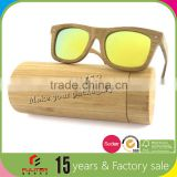 Sunglasses packaging unfinished bamboo boxes wholesale